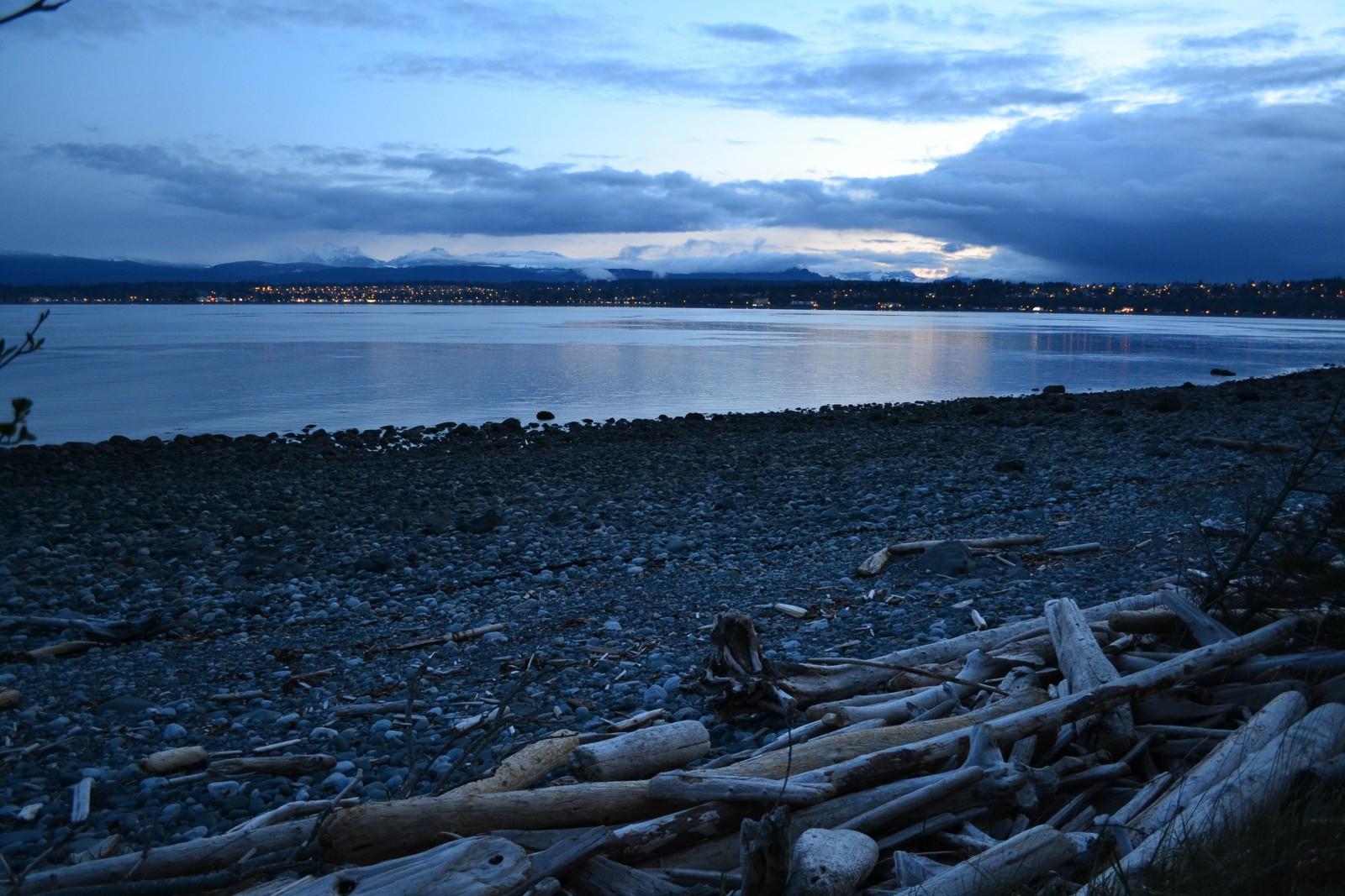 Wybrzeze wyspy Vancouver