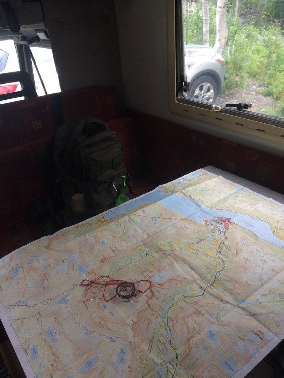 Romsdalseggen - przygotowania.jpg