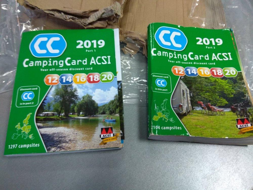 Karta Acsi Camping Card Strona 27 Kacik Ogolny Karawaning Pl